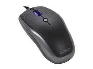 A4Tech D-530-FX2 Gray Wired Optical Mouse