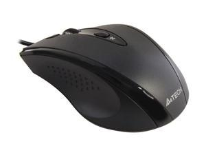 A4Tech D-770FX Black Wired Optical Mouse
