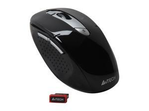 A4Tech G11-570HX-1 Black 7 Buttons 1 x Wheel USB RF Wireless Mouse