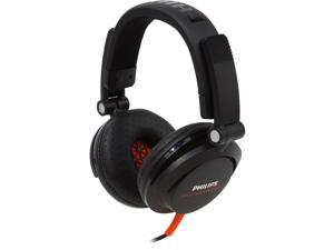 Philips SHL3300 DJ Over-Ear Headphones - Black