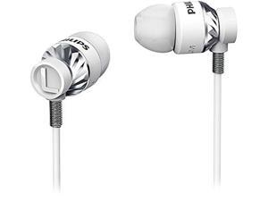 PHILIPS White SHE5300WT/27 3.5mm Connector In-ear Headphones