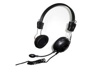 Connectland CM-5023 3.5mm Connector Circumaural Stereo Headset with Microphone