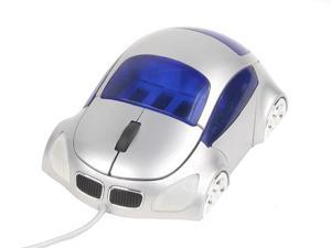 LOGISYS Computer M-COUPE MS608SL Silver Wired Optical Mouse