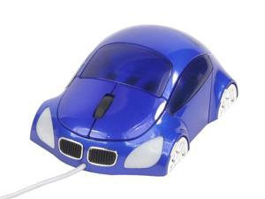LOGISYS Computer M-COUPE MS608BL Blue Wired Optical Mini Mouse