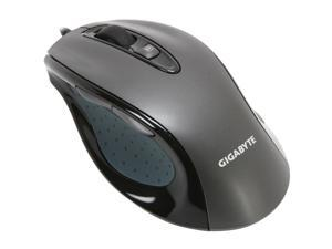 GIGABYTE M6800 GM-M6800 Noble Black 4 Buttons 1 x Wheel USB Wired Optical Gaming Mouse