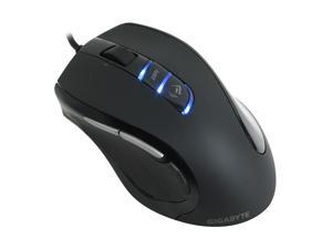 GIGABYTE GM-M6980 Black Wired Laser Gaming Mouse