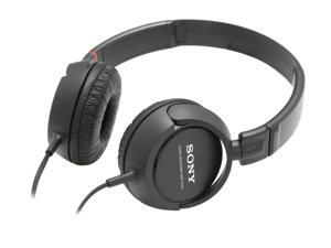 SONY Black MDR-ZX100/BLK Supra-aural Stereo Headphone