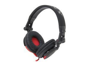 Sony Dj-Style Headphones - Black/Red