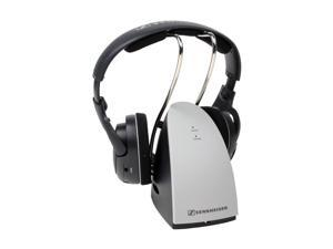 Sennheiser RS 120 3.5mm/ 6.3mm/ RCA Connector Supra-aural Wireless RF Hi-fi Headphone
