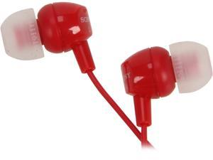 SONY Red MDR-EX10LP/RED In-Ear Earphone (Red)