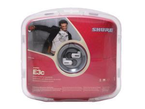 SHURE E3C Canal Sound Isolating Earphones