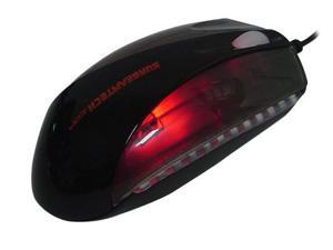 Sunbeam MS-X777 Black Wired Optical Gaming Mouse