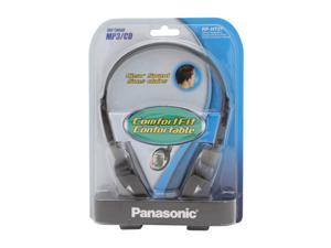 Panasonic RP-HT21 3.5mm Connector Supra-aural Lightweight headphone with XBS
