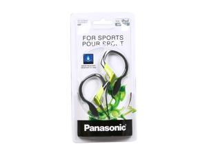 Panasonic Shockwave Green RP-HS33-G 3.5mm Connector Earbud Sport Clip Earphone, Green