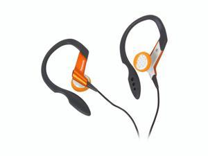 Panasonic Shockwave RP-HS33-D Earbud Lightweight Clip Earphone (Orange)
