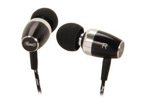 Rosewill RHTS-12008 - Premium Passive Noise Isolating Metal Earbuds with Gold-Plated 3.5mm Connector