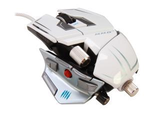 Mad Catz M.M.O.7 MCB437130001/04/1 White Wired Laser Mouse