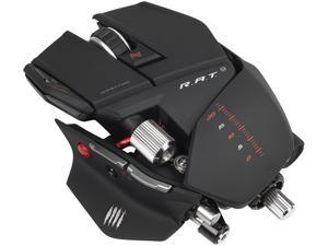 Mad Catz R.A.T.9 Gaming Mouse for PC and Mac - Matte Black