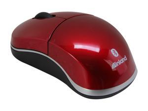 inland 7349 Red Bluetooth Wireless Optical Mouse