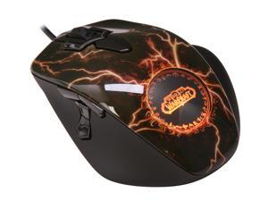 SteelSeries World of Warcraft MMO Legendary Edition 62050 Black Wired Optical Gaming Mouse