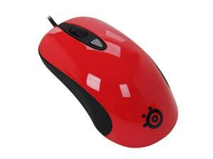 SteelSeries Kinzu V2 Pro Red Red Wired Optical Mouse