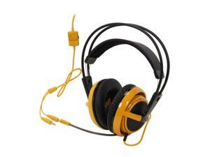 SteelSeries Siberia V2 Circumaural Full-Size Gaming Headset - Yellow