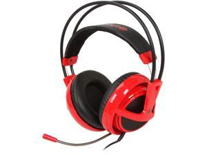 SteelSeries Siberia V2 Circumaural Full-size Headset - Red