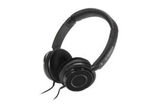 Yamaha Black HPH-200BL Supra-aural Headphone, Black