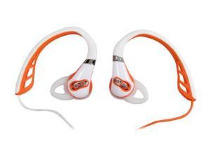 Polk Audio UltraFit 500 In-Ear Sports Headphones (White/Orange)