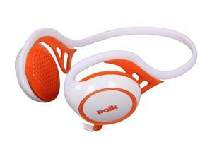 Polk Audio UltraFit 2000 On-Ear Sports Headphones with iPod/iPhone Control and Mic (White/Orange)