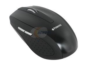 Polaroid PMI4500 Black RF Wireless Optical Mouse