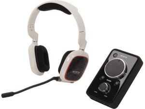 Astro Gaming A30 Supra-aural Wired Headset + MixAmp Pro - White