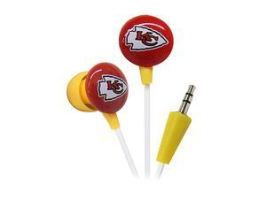 IHIP Red/Yellow NFF10200KCC Kansas City Chiefs Mini Ear Buds,Red/Yellow