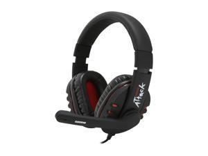 Ozone Gaming Gear ATTACK 3.5mm x 2 Circumaural Stereo Gaming Headset
