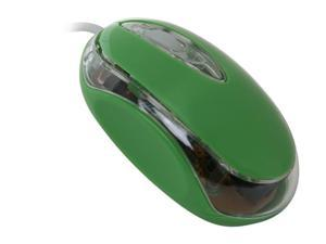 Wintec FileMate Imagine M1210 Light Green Wired Optical Mini Mice