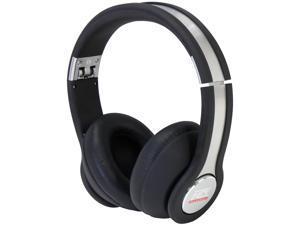 MTX StreetAudio Black iX1 - Black On Ear Acoustic Monitor Headphones