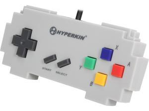 Hyperkin 813048014171 Pixel Art Controller for PC/Mac-Gray Famicom