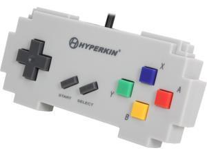 Hyperkin 813048014171 Pixel Art Controller for PC/Mac-Gray Famicom