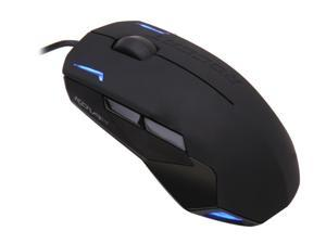 ROCCAT Kova+ ROC-11-520 Black 7 Buttons 1 x Wheel USB Wired Optical Gaming Mouse