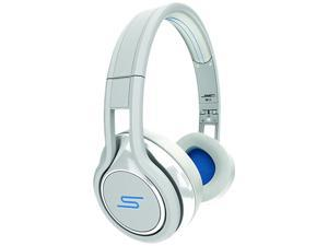 SMS Audio STREET by 50 White SMS-ONWD-WHT Wired On-Ear Headphones - White