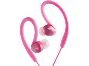 JVC Pink HAEBX5PN Binaural Headphone/Headset