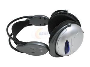 LUXMA LHP-888HT Circumaural Silver Wireless Headphone Set