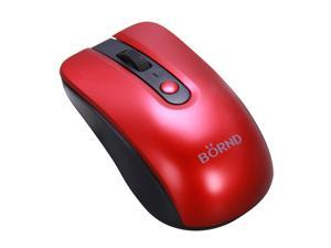 BORND C190 Red RF Wireless Optical Mouse