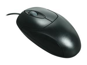 ATRIX MOUAP800BLK Black 3 Buttons 1 x Wheel USB Wired Optical Mouse