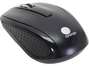 Orange MOUC6020BK Black 3 Buttons 1 x Wheel USB Wired Optical Mouse