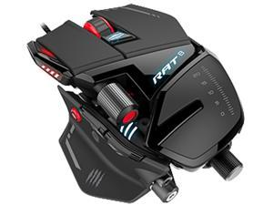 Mad Catz RAT 8 MCB4373300A3/04/1 Red 11 Buttons USB Wired Optical 12000 dpi Mouse