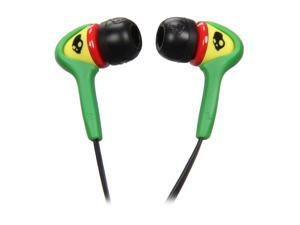 Skullcandy Smokin Buds Rasta In Ear Bud S2SBDZ-058 (2011 Model)
