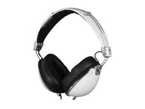 Skullcandy White Roc Nation Aviator 3.5mm Gold Plated Connector Over-Ear Roc Nation Aviator Headphone - White