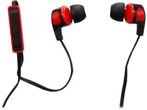 Skullcandy Smokin Buds 2 Black/Red S2PGFY-010 3.5mm Connector Canal Headphone