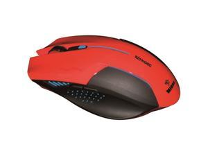 NIDHOGG ERGONOMIC COMPUTER GAMING RED MOUSE BY ERGOGUYS